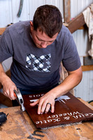 A Business Major works on various projects for Treasures Home Decor, an IBC Business.