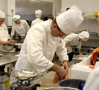 Culinary Arts Cooking class 2003