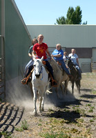 Students hone their skills on horseback at the BYU-Idaho Livestock Center.