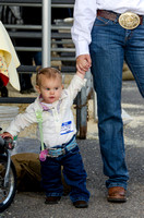 Child and her mother at BYU-Idaho's first Ag Days
