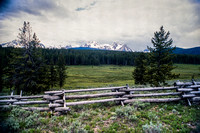 Sawtooth Mountains in central ID