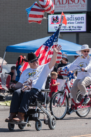 4th of July Parade organized by the City of Rexburg. Spring Semester