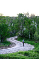 James rides a route starting and ending in Rexburg and looping through Green Canyon and Heisi Hot Springs.