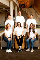 Members of the BYUI Student Living Council.