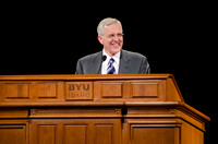 Elder Christofferson speaks to students at Brigham Young University-Idaho Devotional