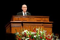Pres. Henry B. Eyring speaks and dedicates the buildings at the BYU-Idaho Center & Manwaring Building Dedication.