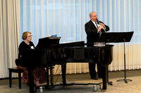 "A selection of photos from the Eliza R. Snow Soiety Evening of Honors held on March 20th 2015. John Bownman, accompanied by Lisa Miyasaki, perform ""Concertino"" for clarinet by Carl Maria Von"