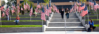 Flags on Campus to remember 9/11