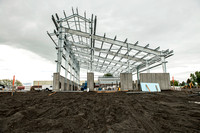 New buildings for working with animals are being added on at the BYU-Idaho Livestock Center.