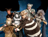 Promo photos for the Cats theatre production.