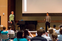 At the first ever iTalk, students at Brigham Young University-Idaho speak about topics of their choice to others students. July 2015
