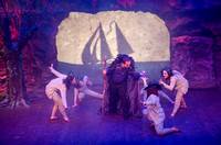 BYU-Idaho students perform The Tempest at the Black Box Theatre located in the Eliza R. Snow Building.
