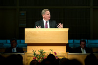 Elder Craig C. Christensen of the Presidency of the Seventy was the guest speaker.