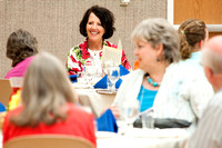 Dr. Victor Ludlow and his wife V-ann Ludlow host a traditional Jewish Passover Seder as part of BYU-Idaho Education Week.