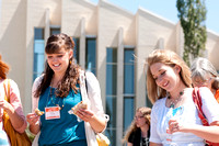 Education Week participants outside the John Taylor Building.