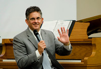 "Marvin Goldstein, assisted by Venessa Joy, presents ""The Power and Glory of Music,"" an Education Week class."