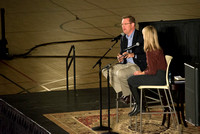 President and Sister Gilbert host a date night with BYU-Idaho Students. Oct 2015
