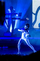 Lindsey Stirling at BYU-Idaho. A classically trained violinist from Gilbert, AZ, Lindsey has entered a futurist world of electronic big beats and animation, leaping through the music industry with ove
