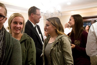 Every Monday night, the Gilbert Family hosts Family Home Evening to the Student Wards at BYU-Idaho. This night was the YSA 63rd Ward.