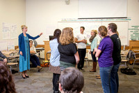 Sister Grant teaches COMM 150: Interpersonal Communication