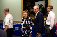 Alumni of the class of 1963 were inducted into the ranks of emeritus status. Also, David and Sara Lee Gibb were honored as the Alumni Award of Excellence Recipients.