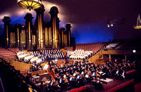 """Behold He Cometh,"" at the Tabernacle in Salt Lake City, Utah."