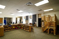 The Child Lab in the John L. Clarke Building provides a space for Elementary Education students to teach children.