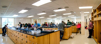 Science Lab in the George S. Romney Building.