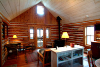 Sky Mountain Cabin known as the Library.<br/>BYU-Idaho photo by Michael Lewis