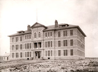 Ricks Academy Building shown in 1910