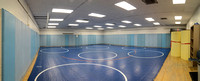 Wrestling Practice Room located in the John W. Hart Building