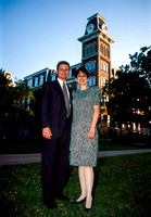 President David A. Bednar and Sister Susar Bednar posing for a portrait in Arkansas