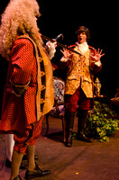 "Theater students put on a production of the 18th century play, ""She Stoops to Conquer,"" written by Oliver Goldsmith."