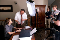 The Nathan and JanaLee Meeker family video production to promote BYU-Idaho online instuctors.