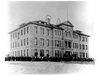 The Ricks Academy Spori Building in 1915.