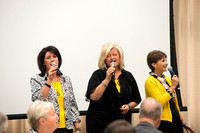Heartbound shares their musical talents during Emeritus Breakfast.  The class of 1963 were inducted into the ranks of emeritus status and the David and Sara Lee Gibb were honored as the Alumni Award o