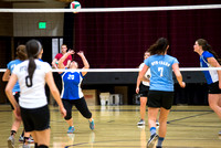 Women's competitive VolleyBall Championship game.