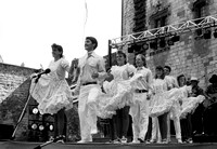 Folk Dance team tours and preforms in Europe.