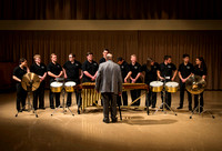 Percussion Ensemble, directed by David Taylor - Mar 31, 2016