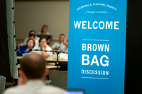 Brown Bag: A discussion lead by faculty members about different techniques and teaching styles.