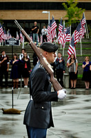 The BYU-Idaho ROTC honors those who gave their lives for the Constitution and this country's freedom.