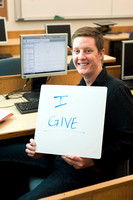 Students give to help others in need. Engineering student