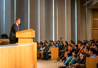 President Gilbert welcomes new students and their parents to BYU-Idaho.
