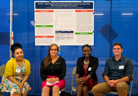 Students from majors across campus display their best work at the conference in the BYU-Idaho Center.