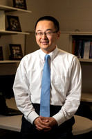Professor Martin Ma in his office in the Smith Building.
