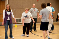 Adaptive Physical Education with instructor Bob Christensen.