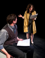 The theater department performs readings as part of the Ibsen Series.