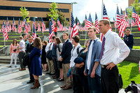 BYU-Idaho students and faculty come together to honor our Constitution and those who contributed to it.