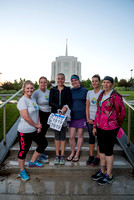 2016 Temple to Temple relay from Rexburg Temple to Idaho Falls Temple.
