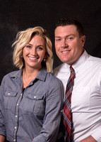 PAC group members. Paige & Johnny Hanna